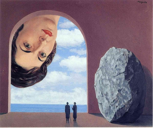 clausewitz, magritte