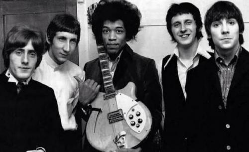 Jimi Hendrix, les Who