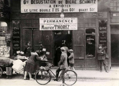 Au 30 rue de Belleville, la Bellevilloise Paris 1924.jpg