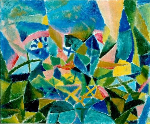 Paul Klee, Parterre de fleurs 1913.jpg
