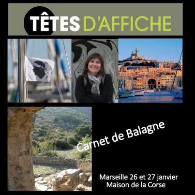Hélène Ourties, Carnet de Balagne