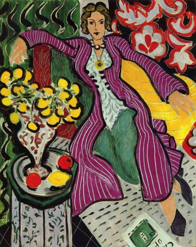 Matisse, 1947, la femme au manteau violet.jpg