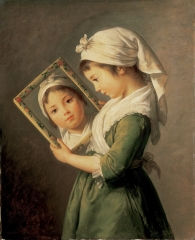Vigee-Le-Brun_Julie-Le-Brun-Looking-in-a-Mirror_Private-Collection.jpg