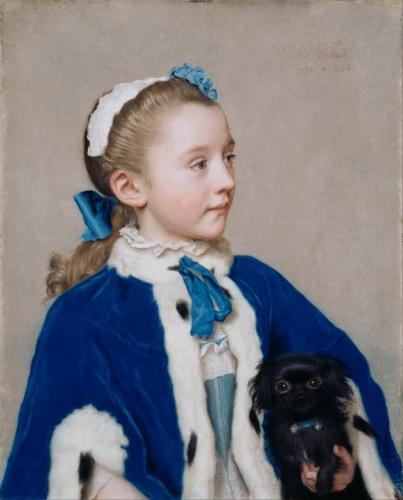 Jean-Étienne Liotard (1702-1789) Portrait of Maria Fredericke Van Reede-Athlone.jpg