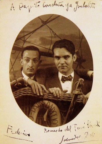 Salvador Dalí et Federico García Lorca, Barcelone, 1925.jpg