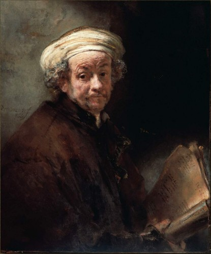 Novalis, Rembrandt