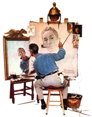 009_575-010~Norman-Rockwell-Triple-Self-Portrait-Posters.jpg