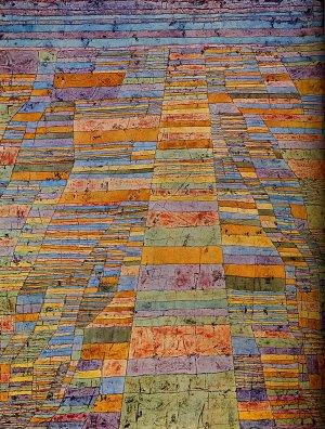 l'aube a un goût de cerise, Paul Klee