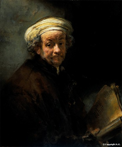 confucius, Rembrandt