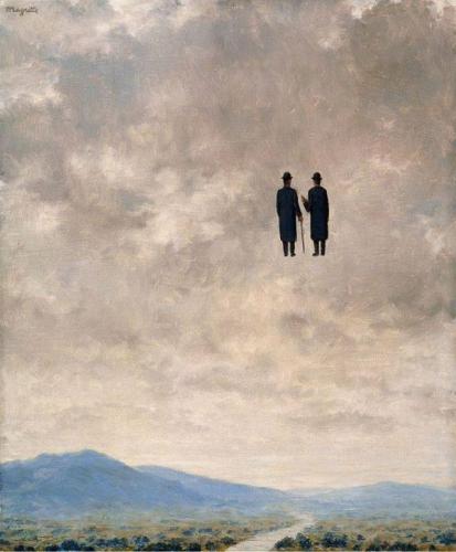 rené magritte, conversation