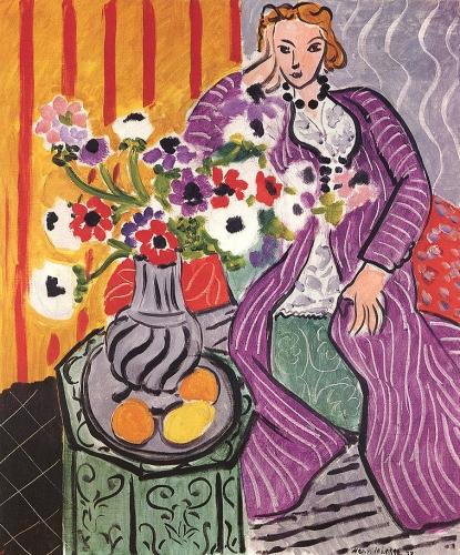 Matisse robe pourpre et anémones 1937.jpg