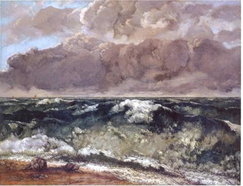 Gustave Courbet, Mer orageuse (la vague), 1869, huile, 112 x 144 cm, Berlin.jpg