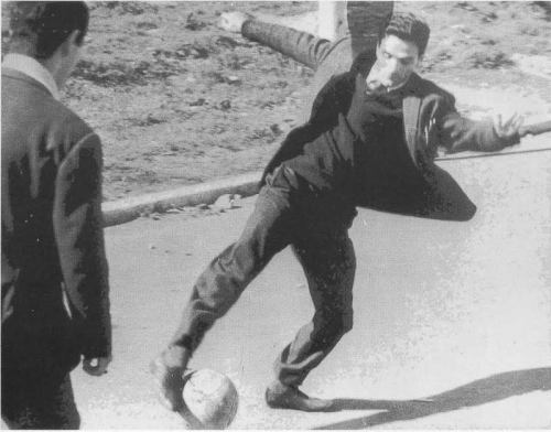 Pier Paolo Pasolini, football
