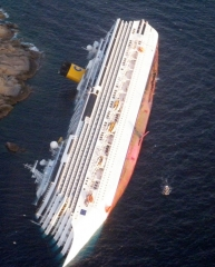 costa concordia,histoires vraies en mer méditerranée