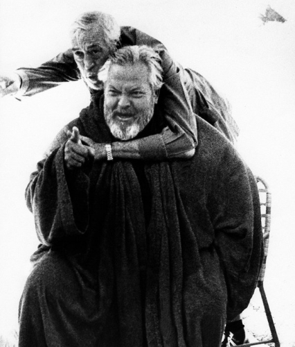Orson Welles, John Huston