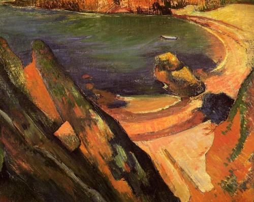 Gauguin, 1889, crique à le Pouldu.jpg