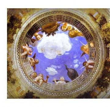 Andrea Mantegna (1431-1506), plafond du palais ducal de Mantoue.jpg
