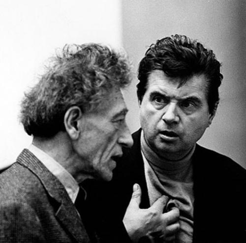 alberto giacometti, Francis Bacon, Graham Keen