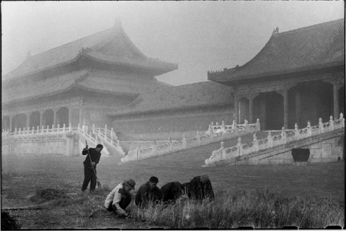 Henri Cartier-Bresson, Chine