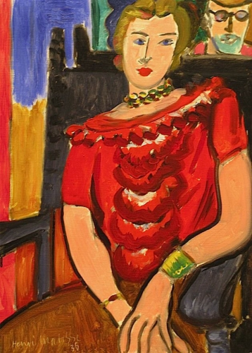 Henri Matisse -The Red Blouse ,1936.jpg