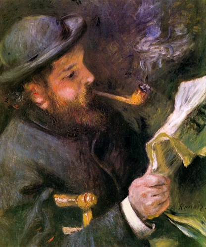Claude Monet, auguste renoir