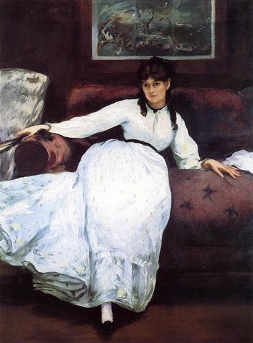 Berthe Morisot, edouard manet