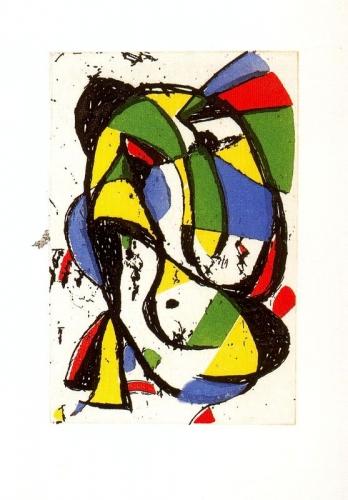 Les adieux, 1981, Miro.jpg