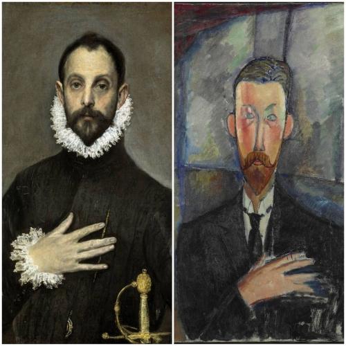 Le Greco, Modigliani