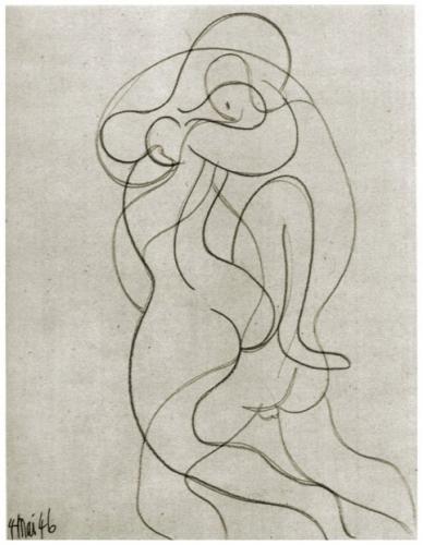 Picasso, le bonheur est un drôle de serpent