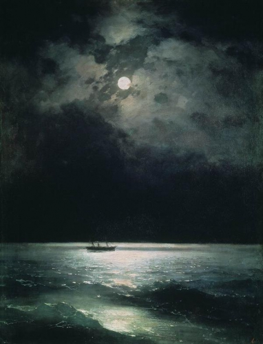 The Black Sea at night by Ivan Aivazovsky (1879).jpg
