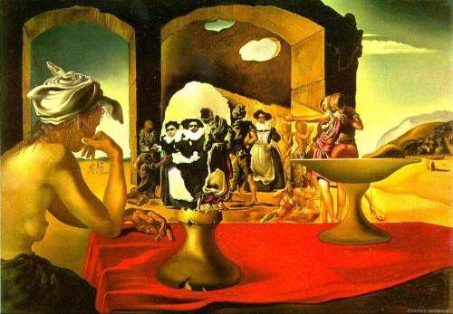 Marché-aux-esclaves-avec-apparition-du-buste-invisible-de-Voltaire-1940.jpg