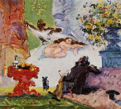 cézanne,manet